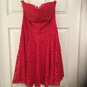 Jun&Ivy Red Dress